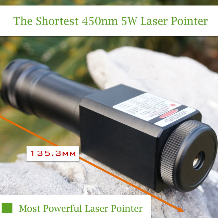 Waterproof blue laser pointer 5W Top powerful Diving light